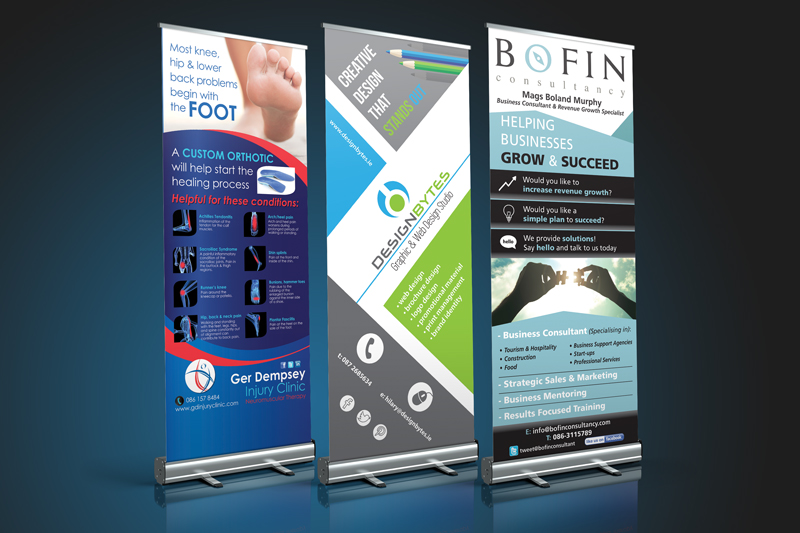 pull up banner design - Our Work