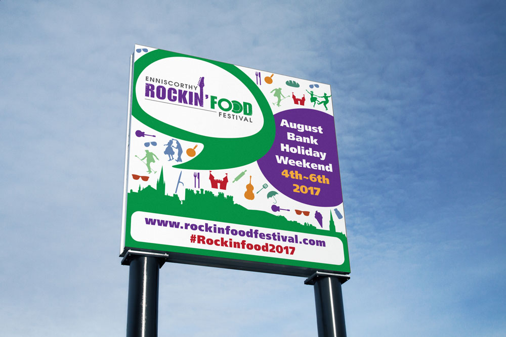 Rockin-Food-Festival-Sign