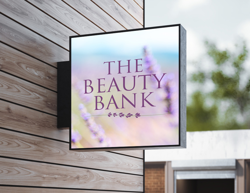 The Beauty Bank Logo - The Beauty Bank