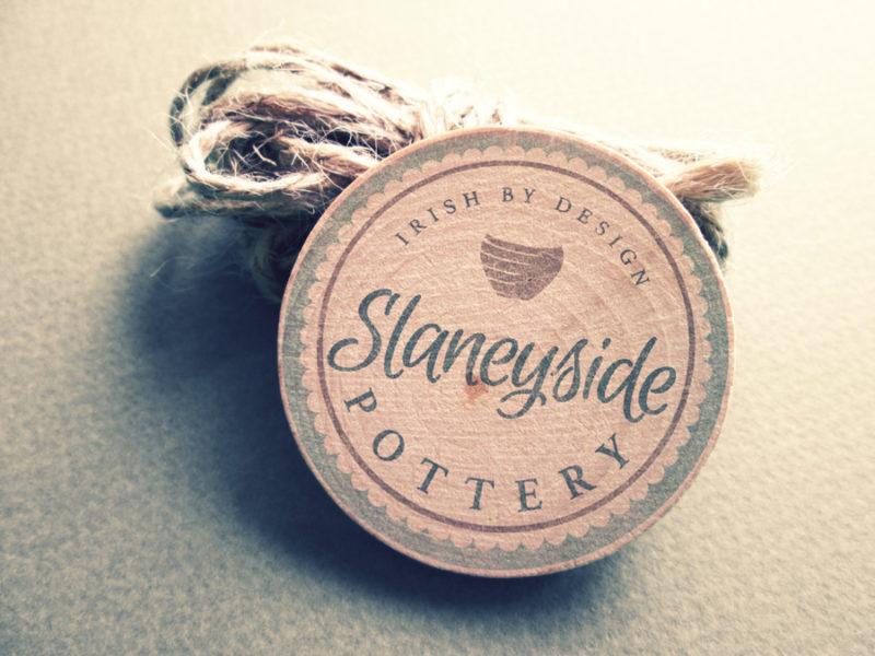 Slaneyside Pottery Logo Design