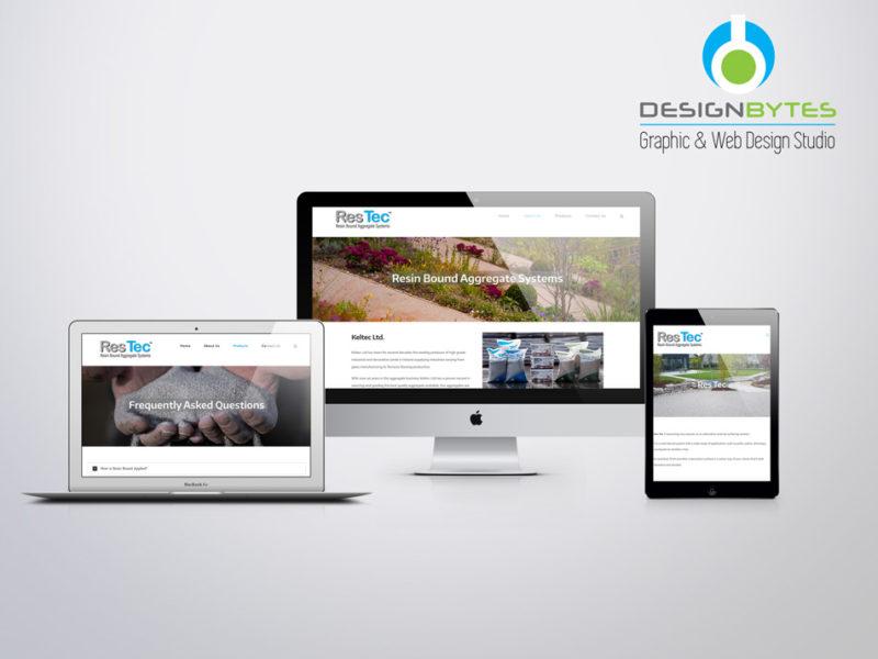 ResTec Website Design 800x600 - Res Tec Ireland