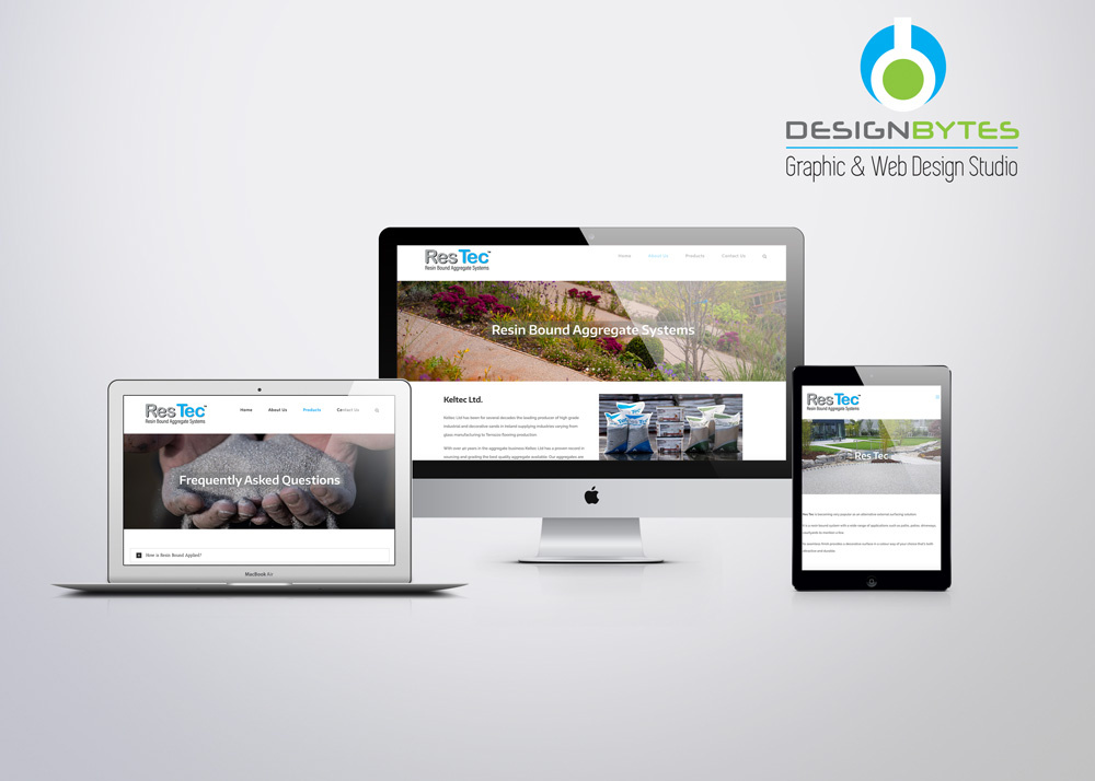 ResTec Website Design - Res Tec Ireland