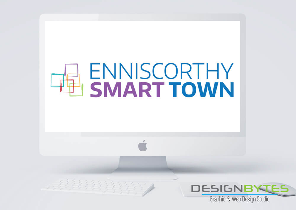 Enniscorthy Smart Town Logo Design 1 - Our Work
