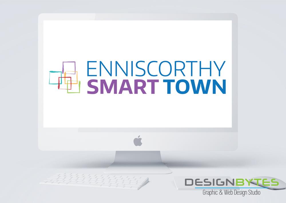Enniscorthy Smart Town Logo Design - Enniscorthy Smart Town